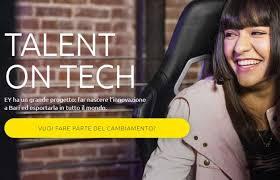 Parte Talent On Tech, progetto di EY rivolto ai talenti del Sud Italia