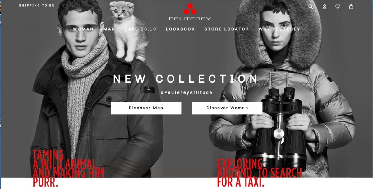 new products 0283a ef691 Peuterey sceglie Armando Testa per la nuova campagna di ...