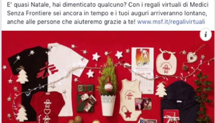 Regali Di Natale Solidali Medici Senza Frontiere.Con Inflooendo E Msf Anche Il Content Marketing E Stato Piu Buono