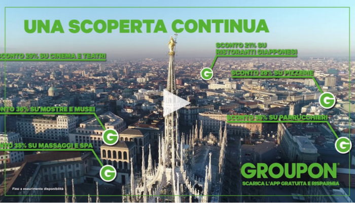 Groupon Lancia A Milano La Campagna Dedicata Alla Ricerca Dei